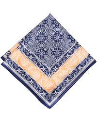 J.Crew - Drakes Batik Tile Handkerchief - Lyst