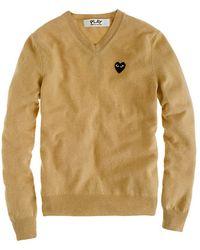 J.Crew Play Comme Des Garçons® V-Neck Sweater - Lyst