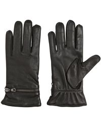 John Varvatos - Nappa Leather Gloves - Lyst