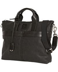 McQ - Waxed Canvas Shoulder Bag Men Only - Lyst