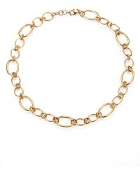Mija - Oval Link Chain Necklace - Lyst