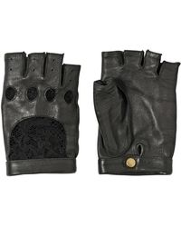 Nina Ricci - Lace and Nappa Leather Gloves - Lyst