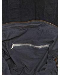 Officine Creative Washed Vintage Leather - Blue