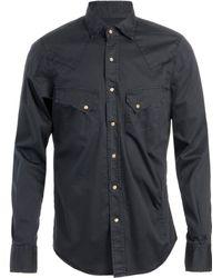 Pence | Otello Stretch Cotton Shirt | Lyst