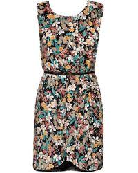 Oasis Tapestry Folk Print T Shirt Dress - Lyst