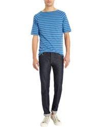 Saint James Wide Neck Striped Shirt - Lyst
