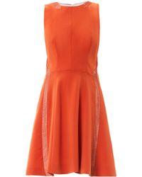 Rag & Bone Renard Mesh Panel Dress - Lyst