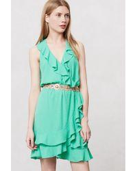 Sachin & Babi Dotted Ruffle Dress - Lyst