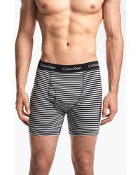 Calvin Klein Stretch Cotton Boxer Briefs 2pack - Lyst