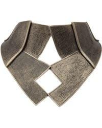 Delphine Charlotte Parmentier - Gold Bausch Torque Necklace - Lyst