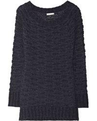 Donna Karan New York Openknit Sweater - Lyst