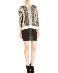 IRO Delfina Cable-Knit Wool-Blend Sweater - Lyst