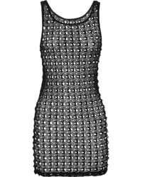 Lisa Maree - Bottled Baby Crochet knit Mini Dress - Lyst