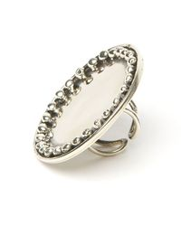 Anndra Neen - Dotted Plate Ring - Lyst