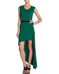 BCBGMAXAZRIA Evelyn Sleeveless Asymmetrical Dress - Lyst