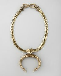 Giles & Brother - Tusk Pendant Necklace - Lyst