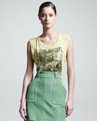 Kelly Wearstler - Phenomena Leather Skirt - Lyst