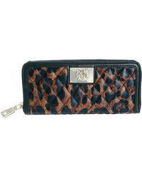 Love Moschino - Quilted Leopard Print Zip Around Wallet - Lyst