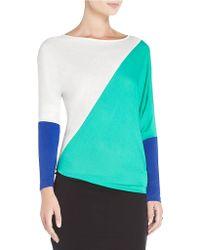 BCBGMAXAZRIA Laheld Colorblock Tunic Dress - Lyst