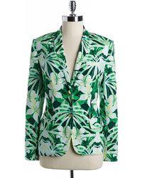 Vince Camuto - Floral Print Blazer - Lyst