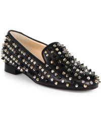 christian louboutin mens shoe - Shop Women's Christian Louboutin Loafers | Lyst