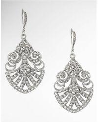 Nina - Hazel Crystal Drop Earrings - Lyst