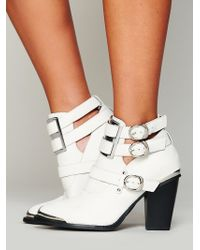 Free People Lindi Buckle Back Boot - Lyst