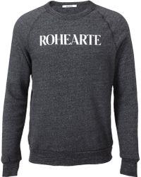 Rodarte - Rohearte Cottonblend Sweatshirt - Lyst