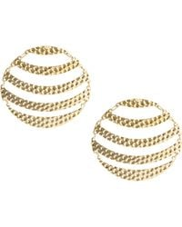 ASOS Collection Limited Edition Articulated Circle Earring - Lyst