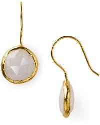 Coralia Leets - Opalite Mini French Wire Earrings - Lyst