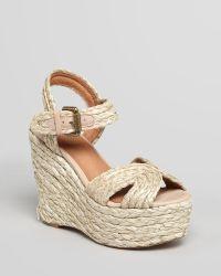 Corso Como - Wedge Sandals Ballo Raffia - Lyst