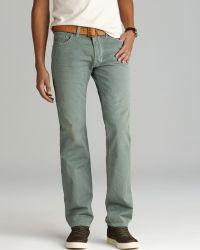 Diesel Jeans Safado Slim Straight Fit in Green - Lyst