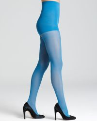 DKNY Tights Comfort Luxe Control Top - Lyst