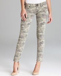 Hudson Jeans Collin Skinny in Green Camo - Lyst