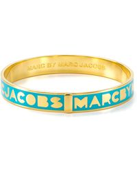 Marc By Marc Jacobs Logo Bangle - Yellow