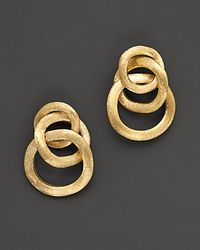 Marco Bicego - Jaipur 18 K Yellow Gold Loop Earrings - Lyst