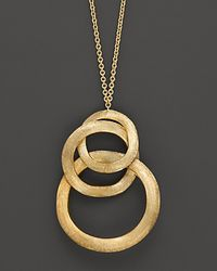 Marco Bicego - Jaipur Link Gold Pendant Necklace - Lyst