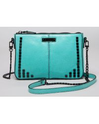 MILLY - Mini Bag Gwen Square Studs - Lyst