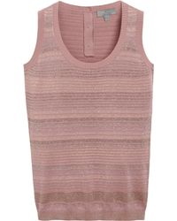 Mulberry Purple Sparkly Vest - Lyst