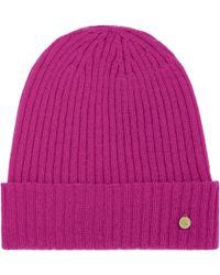 Mulberry Rib Beanie - Pink