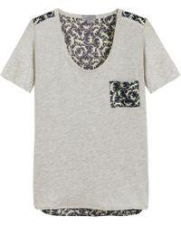 Mulberry Pocket T-shirt - Grey