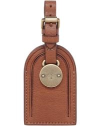 Mulberry Luggage Tag - Brown