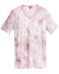 Mulberry Printed Tee - Pink