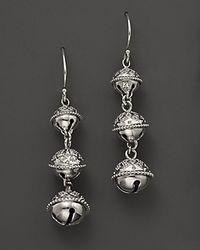 Paul Morelli | Meditation Bell Triple Dangle Earrings | Lyst