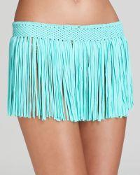 Pilyq - Pily Q Fringe Skirt Cover Up - Lyst