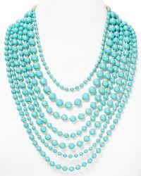 R.j. Graziano - Multi Bead Necklace 26 - Lyst