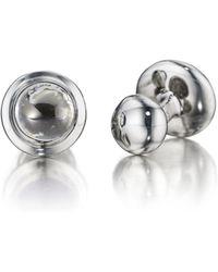 Robin Rotenier | Sterling Silver Globe Cufflinks | Lyst