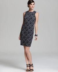 Vince Camuto Chantilly Lace Dress - Black