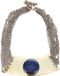 Arielle De Pinto - Moon Tablet Choker Necklace - Lyst