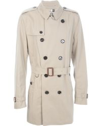 Burberry London 'Britton' Trench Coat - Lyst